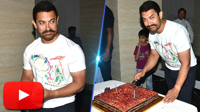 Aamir Khan Celebrates 51th BIRTHDAY