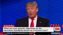 Donald Trump Announces Ben Carson Plans to Endorse him on Friday @ GOP Debate in Miami