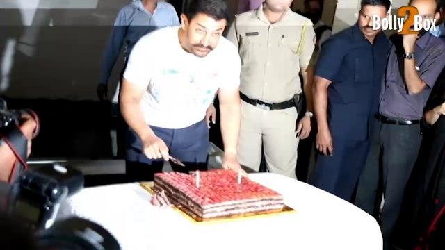 Aamir Khan Celebrates 51st Birthday   Bollywood Celebs