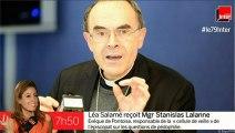 Mgr Stanislas Lalanne répond aux questions de Léa Salamé