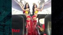 Flight Attendants In Lingerie?!