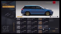 Gran Turismo 6 Drift Build : Subaru LEGACY 2.0 GT   Drift Setup   Drifting Montage   Tunin