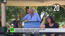 First US pres election test: voters to select their choice in Iowa caucuses