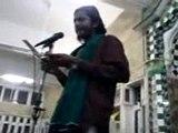 Atbar Ali Marfani Shane-e-Sahaba R.A. in Jamia Masjid Khairpur mirs 2011