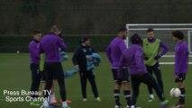 Tottenham Training pre Tottenham vs Borussia Dortmund
