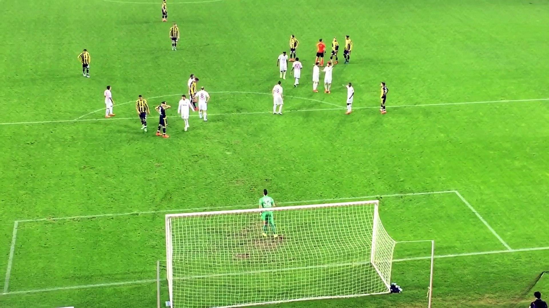 Fenerbahçe - Antalyaspor Bruno Alves Frikik Golü