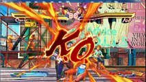 Street Fighter X Tekken - ChunLi and King fight Abel and Guile