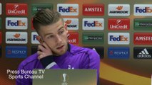 Toby Alderweireld pre Tottenham vs Borussia Dortmund