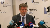 """Eric Van der Sypt, Belgian prosecutor's spokesman: """"A flag of ISIS was found in the flat"""""""