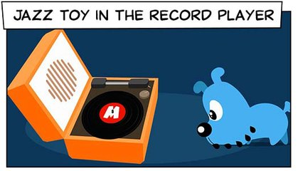 Jazz Toy In The Record Player (T02E25) | Mônica Toy