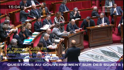 """QAG - Harlem Désir - """"Oui, la France se reforme et respecte ses engagements européens"""""""