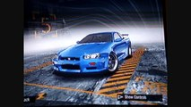 Nissan Skyline [r34] Fast and Furious-Need for Speed ProStreet Comparison