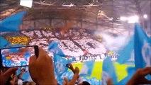 OM-déc. 2013/mars 2016-Tifos-année Bielsa-Ambiances-Marseille-Chants des supporters-Entrée des joueurs