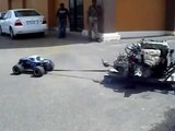 Maverick Blackout MT  Kuwait pull evo x engine /transferbox and gear box