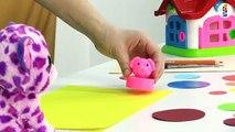 Развивающий мультик  Геометрия для детей  Фигуры  Тигренок и Круг  Видео для детей