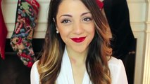 Red Lip Holiday Make-Up Look Tutorial by Niki