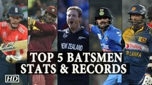 T20 World Cup 2016 Top 5 Batsmen Stats and Records