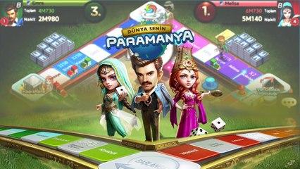 %100 Türkçe MMO Mobil Board Oyunu #PARAMANYA