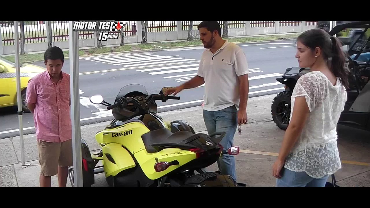 Can-am Spyder F3 S – Motor Test