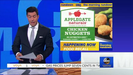 Chicken Nuggets Recalled Over Plastic Contamination