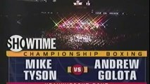 Mike Tyson vs Andrew Golota (HIGHLIGHTS)  Historical Boxing Matches