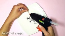 DIY Christmas crafts- CHRISTMAS ORNAMENTS Snowflake - Innova Crafts