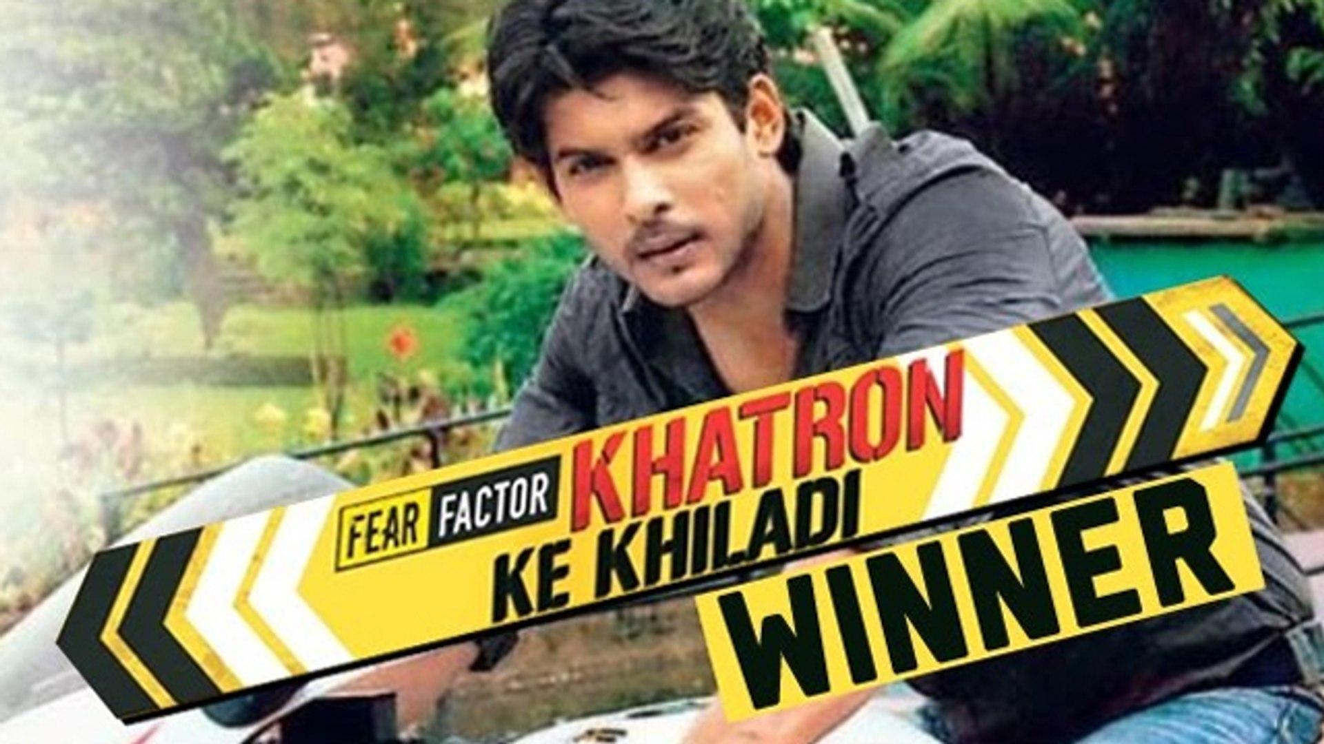 Siddharth Shukla ANNOUNCED WINNER Of Khatron Ke Khiladi 7 - video  Dailymotion