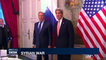 Syrian War : Kerry speaks with Lavrov ahead of Moscow visit