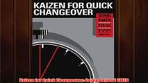 Free PDF Download  Kaizen for Quick Changeover Going Beyond SMED Read Online