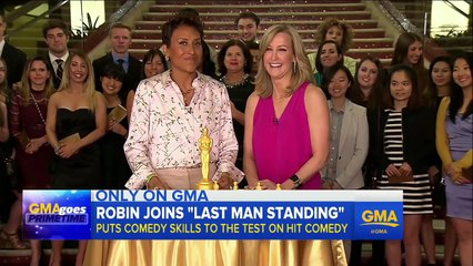 Robin Roberts Guest Stars on Last Man Standing