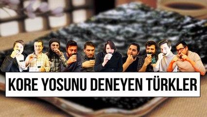 Kore yosunu deneyen Türkler