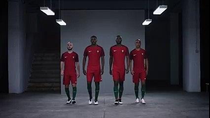 O novo equipamento oficial de Portugal 2016 - Nike