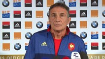"""XV de France - Novès : """"Cohérent de ne pas tout changer"""""""