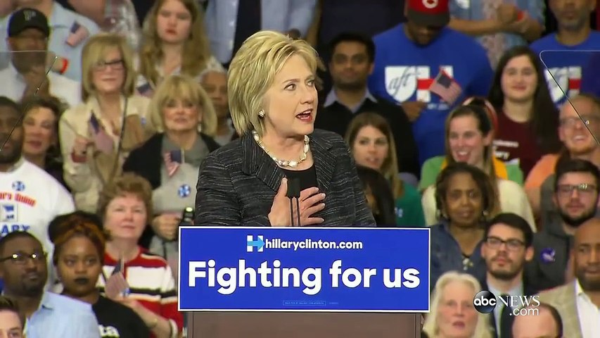 Hillary Clinton Addresses Ohio Supporters After Mississippi Primary Win
