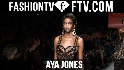 Aya Jones | Model Talks S/S 16 | FTV.com