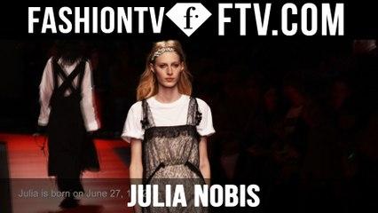 Model Talks Paris S/S 16 - Julia Nobis | FTV.com