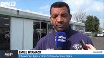 Top 14 - Emile Ntamack fier de l'arrivée de Jacques Brunel à l'UBB