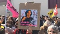 Manifestation contre la loi Travail à Lannion