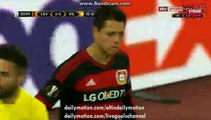 Javier Hernandez Chicharito Amazing Goal HD - Bayer Leverkusen 1-0 Villarreal - Europa League - 17.03.2016