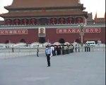 Raise the Flag in Tian An Men