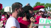 Brazil government supporters rally ahead of Lula swearing-in