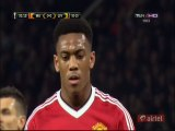 1-0 Anthony Martial Penalty Goal _ Manchester United v. Liverpool - 17.03.2016 HD