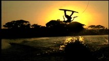 Wake-boarding - the water sport that lets you fly.