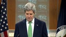 """John Kerry qualifie les exactions de l'EI de """"génocides"""""""
