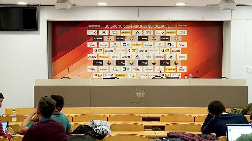 LIVE - Xavi Pascual and Pablo Laso post game press conference (FCB Lassa - Real Madrid) (11)