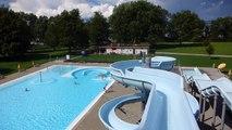 Schwimmbad Hörnli Kreuzlingen - Wasserrutsche _ Water Slide Onride