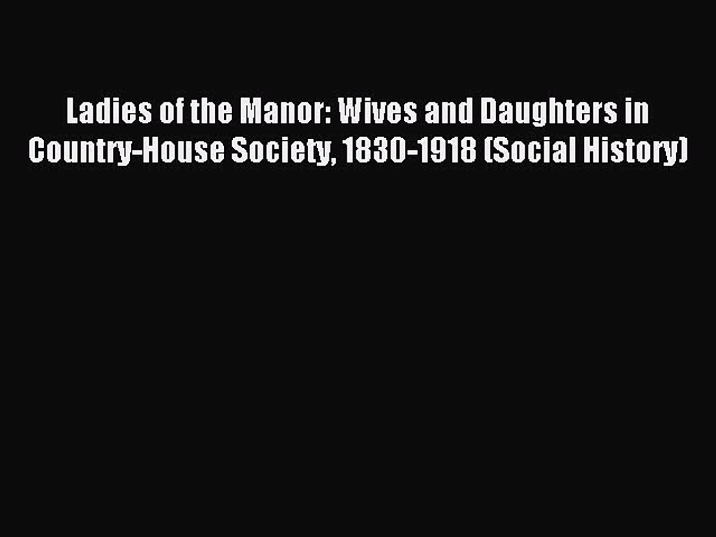Daughters of Whitfield Manor