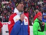 Biathlon - ChM _ Le relais mixte français en or