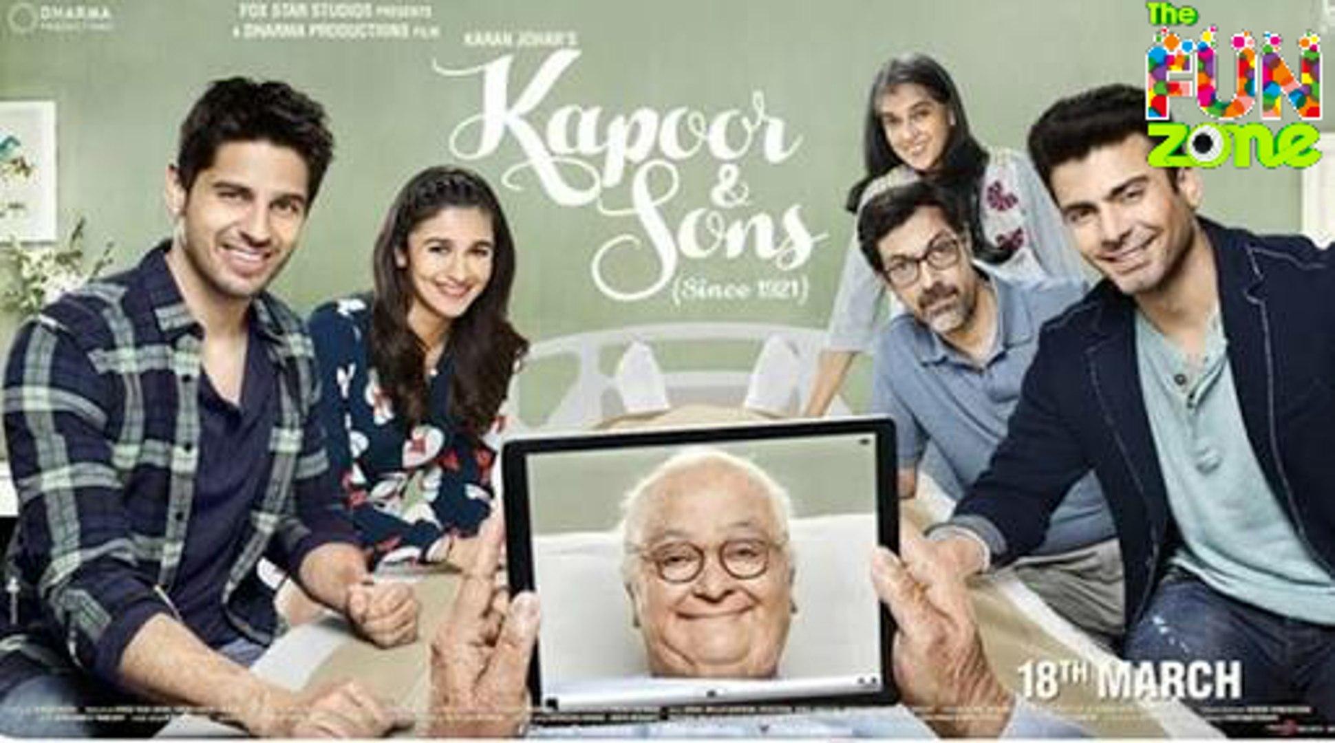 Movie Kapoor & Sons(2016) - Siddharth Kapoor - Alia Bhatt - Mithibai College Full Movie Promotio