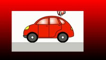 Smart Kids Learn Color Cartoons for Children 5: Coloured Cars